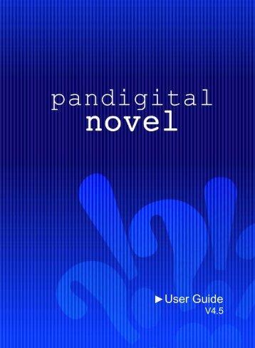 Pandigital novel user guide white.