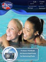 PG ProTeam Heat Pump leaflet (.pdf 2.3 MB) - PoolLock