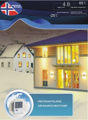 Proteam Polaris Air Source Heat Pumps (.pdf 2.6MB) - PoolLock