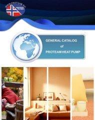 General Catalog Proteam Heat Pump (.pdf 3MB) - PoolLock