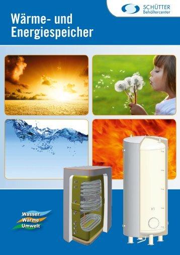 Wärme- und Energiespeicher