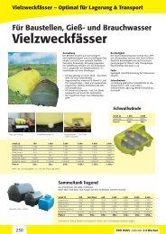 Vielzweckfässer – Optimal für Lagerung & Transport