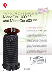 monocor 1000 PP und monocor 600 PP