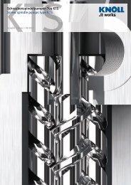 Datenblatt KTS - KNOLL Maschinenbau