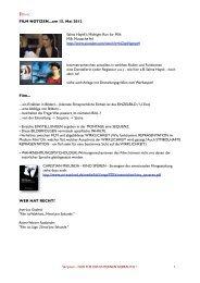Film Notizen - filmABC