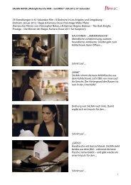 33 Einstellungen in 61 Sekunden Film / 8 Drehorte in Los ... - filmABC