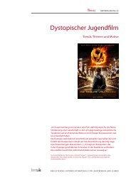 Dystopischer Jugendfilm - Trends, Themen und Motive - filmABC