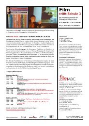 Film trifft Schule 3 - filmABC