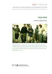 Heile Welt - ein Film von Jakob M. Erwa - mediamanual.at