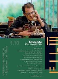 Titelblatt - Filmbulletin