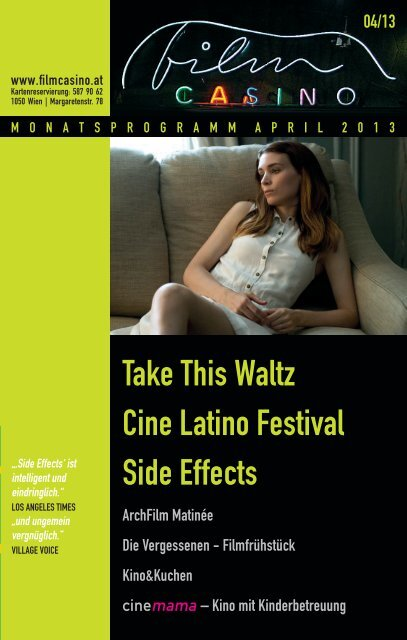 Take This waltz Cine latino Festival Side Effects - Filmcasino