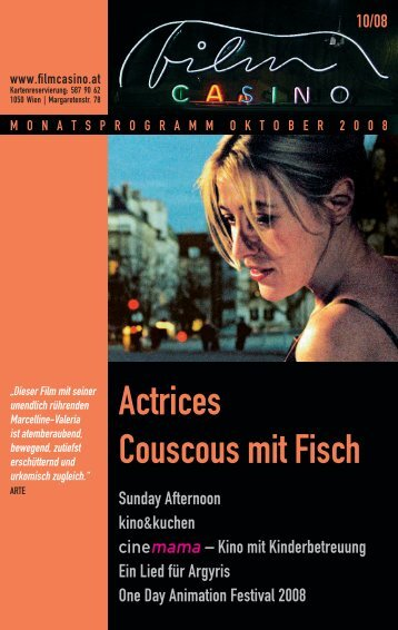 Actrices Couscous mit Fisch - Filmcasino