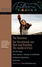 the Sessions Der geschmack von rost und knochen (De ... - Filmcasino