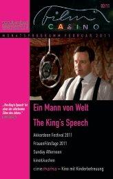 Ein Mann von Welt The King's Speech - Filmcasino