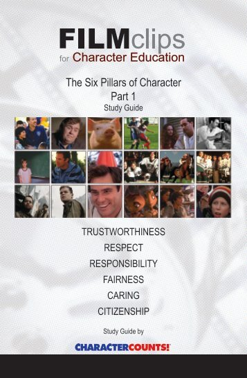 six pillars rubric character counts the six pillars of character part 1 film clips for character education