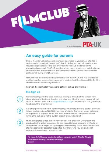 An easy guide for parents 1 2 3 - Filmclub
