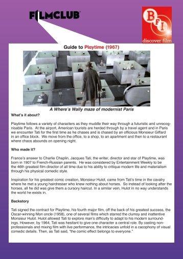 Download PDF - Filmclub