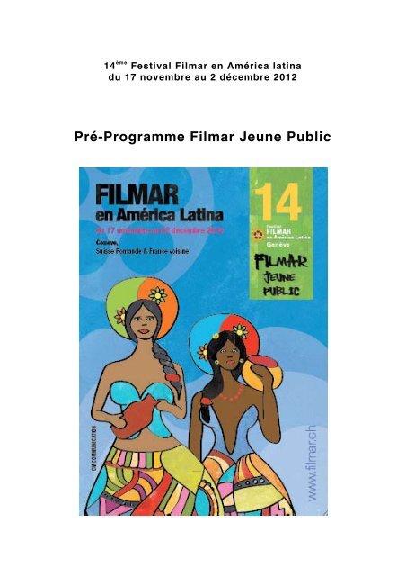 Pré-Programme Filmar Jeune Public - Filme für eine Welt
