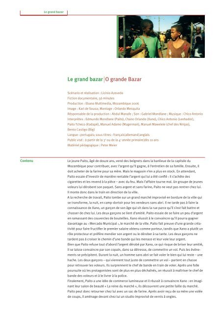 Le grand bazar | O grande Bazar - Filme für eine Welt