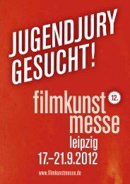 Jugendjury gesucht! Flyer zum Download - Filmkunstmesse Leipzig