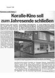 Volksdorf 1999 - Film- und Fernsehmuseum Hamburg