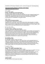Kinderfilme im Filmmuseum Potsdam vom 22. Juni bis 29. August ...
