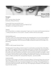 School of Life - Filmmuseum Potsdam