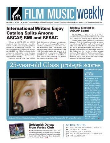 July 5, 2007 - Film Music Magazine
