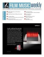 Audio editing this precise demands Sound Forge 9 - Film Music ...