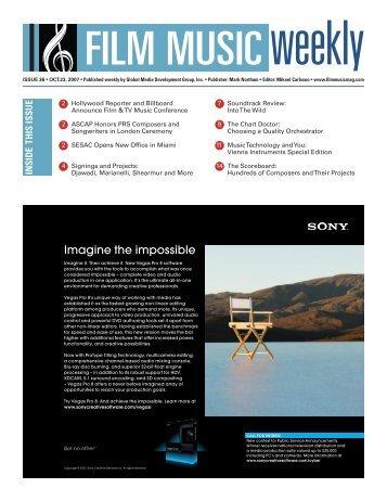 October 23, 2007 - Film Music Magazine
