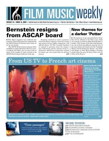 May 8, 2007 - Film Music Magazine