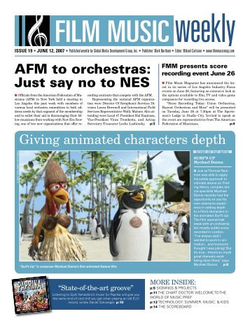AFM to orchestras: Just say no to NES - Film Music Magazine