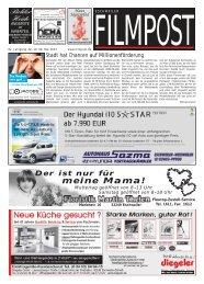 Ausgabe 19 vom 8. Mai 2013 - auf filmpost.de
