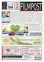 Ausgabe 11 vom 13. März 2013 - auf filmpost.de