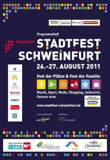 UNSER NEUES SPORTJOURNAL BEIM - Stadtfest Schweinfurt