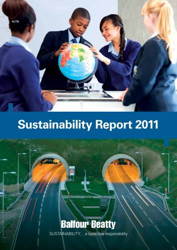 Sustainability Report 2011 - Balfour Beatty Rail