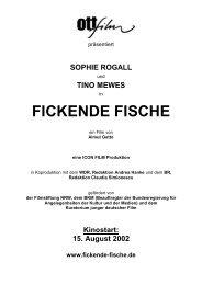 Sophie Rogall - Filmwelt