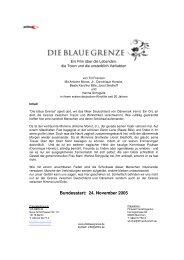 Bundesstart: 24. November 2005 - Filmwelt