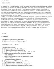 Texto sobre o Modem - Filoczar.com.br