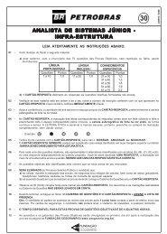 ANALISTA DE SISTEMAS JÚNIOR - A DE SISTEMAS JÚNIOR ...