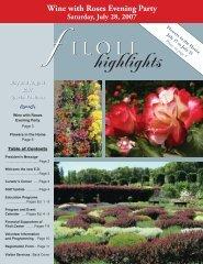 highlights - Filoli