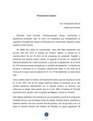 Pamela Soto G.– Instituto de Filosofía - Facultad de Filosofía y ...