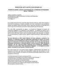 María Luz Morillo Q. – Escuela de Pedagogía - Facultad de Filosofía ...