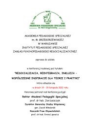 Konferencja APS zaproszenie