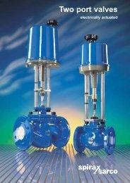 Two port valves - Filter