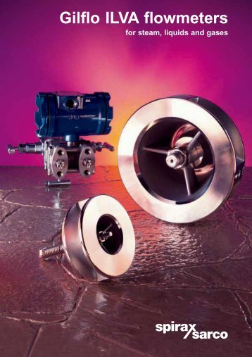 Gilflo ILVA flowmeters - Filter