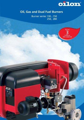 Gas burners - Filter