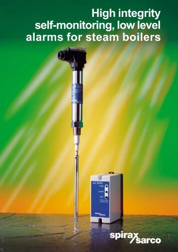 High integrity self-monitoring, low level alarms for steam boilers - Filter