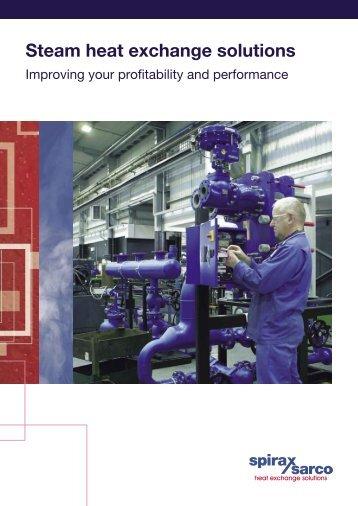 Steam heat exchange solutions - Spirax Sarco