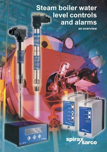 Steam boiler water level controls and alarms - Filter